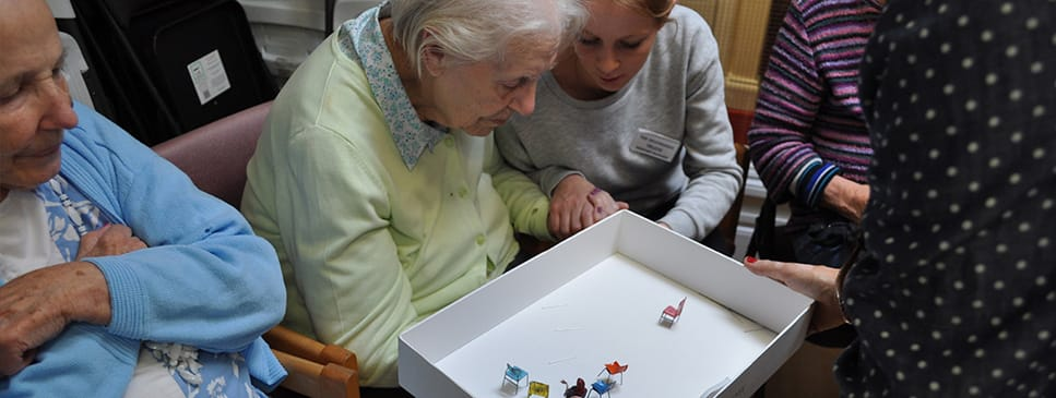 Drama therapy for residents living with dementia