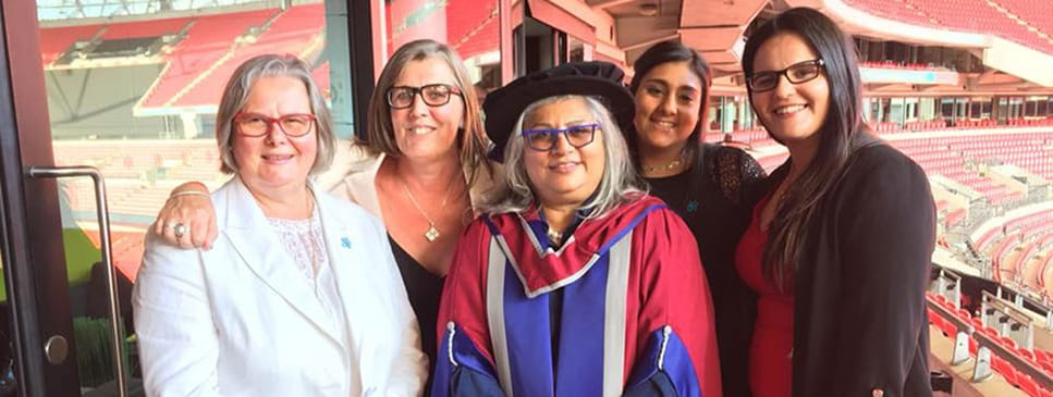 Director Annar receives a doctorate for her work in Dementia Care from University of West London