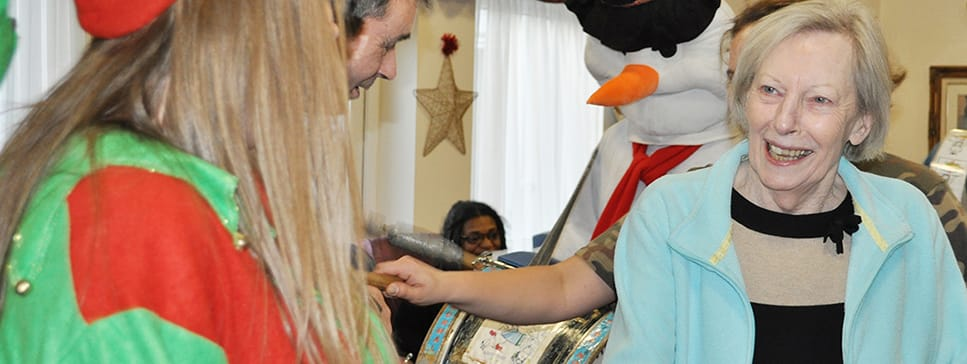Christmas at the Devonshire Dementia Care Home