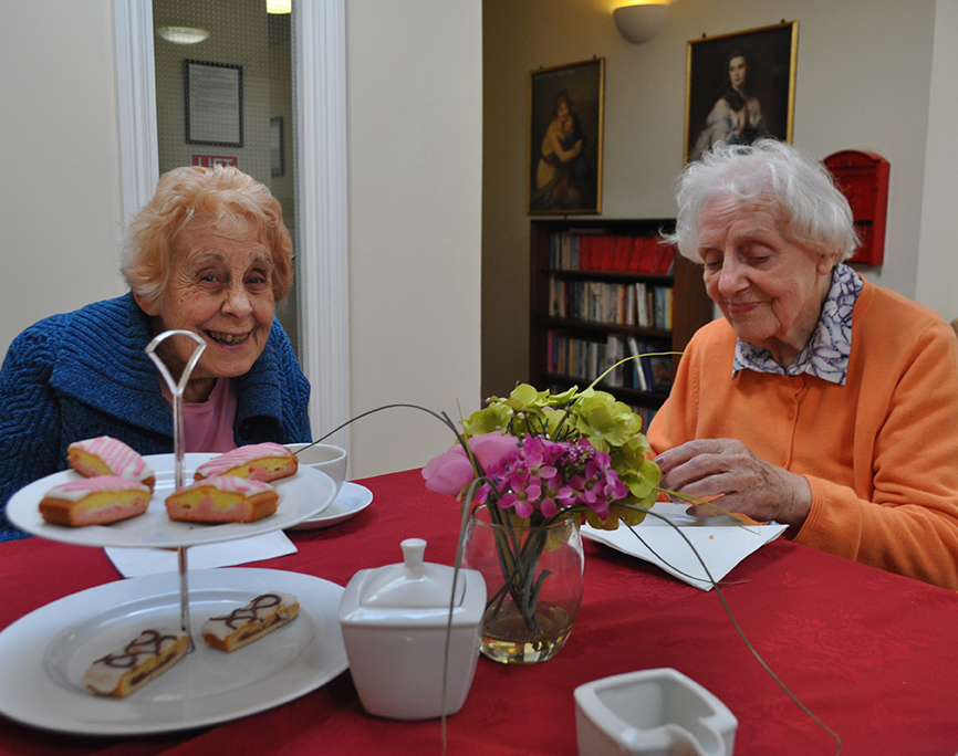 Afternoon Tea at the Devonshire Dementia Day Centre