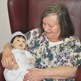 Doll Therapy for resident living with dementia