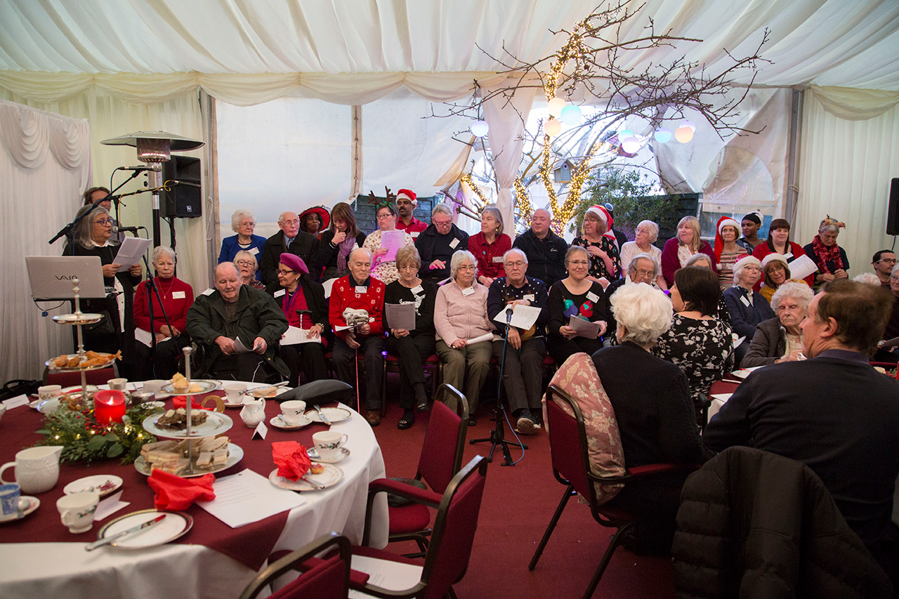 Devonshire Dementia Care Christmas Party