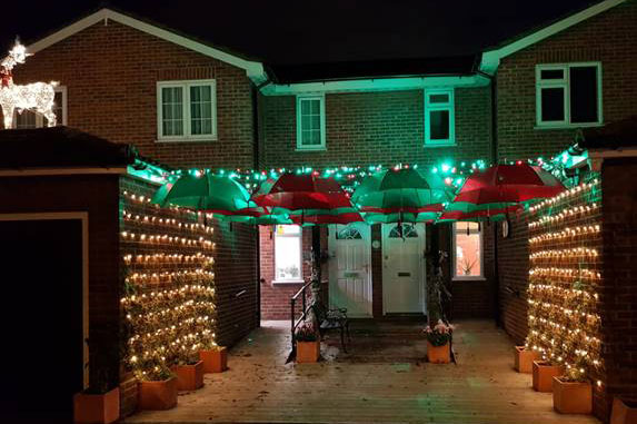 Devonshire Dementia Day Centre Christmas lights
