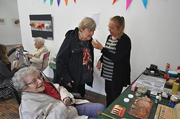 Visit to Imagination Café at University of West London for people living with Dementia